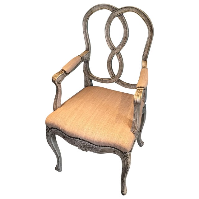 Horchow Ethan Accent Chairs - 2 For Sale