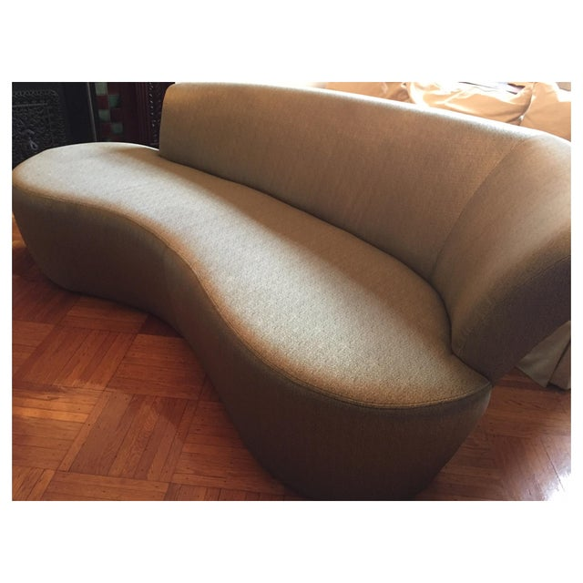 Vladimir Kagan Biomorphic Sofa by Weiman - Image 3 of 7
