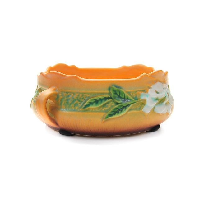 Antique Roseville Pottery Bowl For Sale In Los Angeles - Image 6 of 10