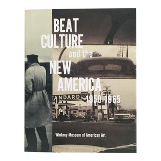 """1995 """"Beat Culture and the New America 1950-1965"""" First Edition Whitney Museum Art/Exhibition Book For Sale"""