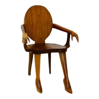 "Marjorie Skouras Design ""Titi Goes to the Tropics"" Chair"