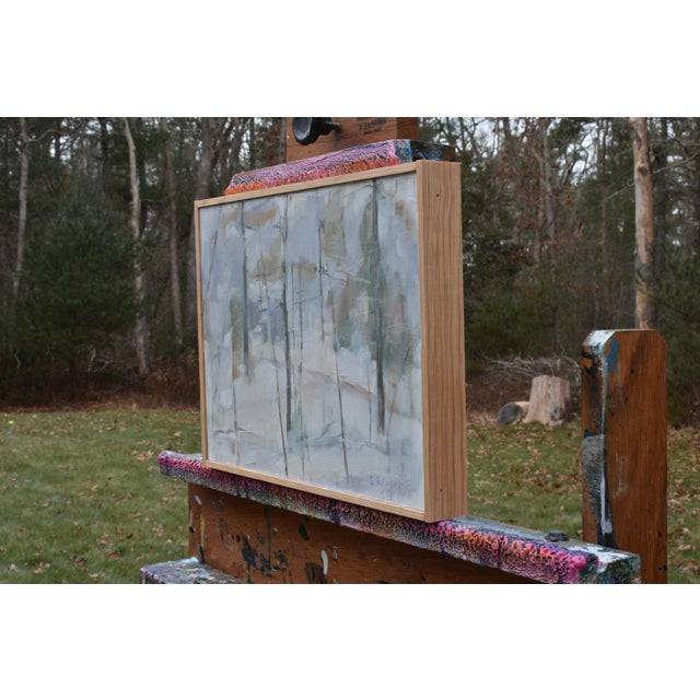 """Stephen Remick """"Winter Woods"""" Painting For Sale In Providence - Image 6 of 8"""