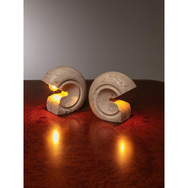 1970s Set of Two Table Lamps by Giuliano Cesari for Sormani For Sale - Image 5 of 5