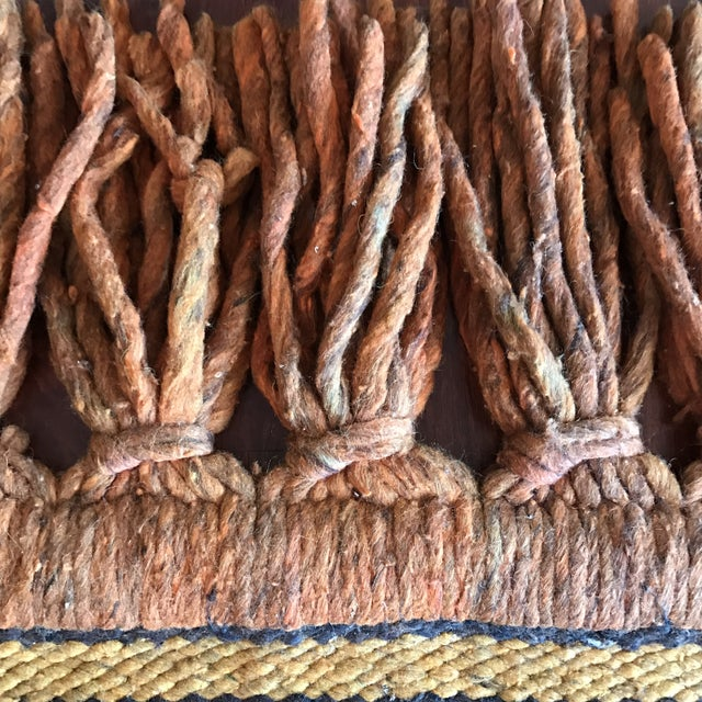 Mid-Century Handwoven Rug - Image 7 of 8