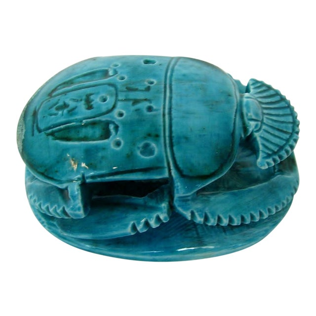 Ceramic Scarab Stamp - Image 1 of 8