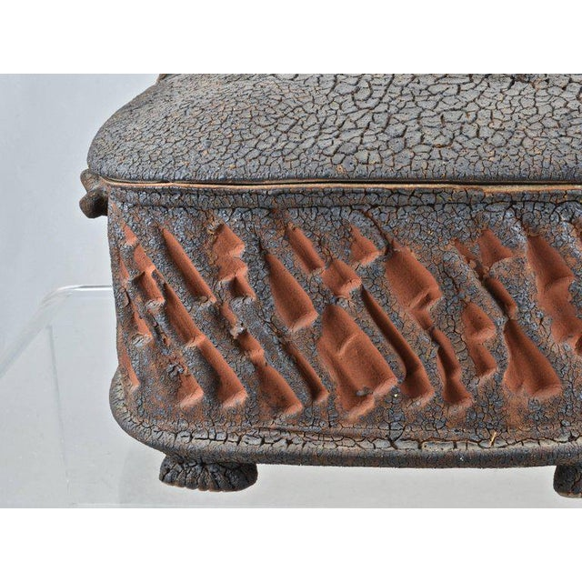 Charles Gluskoter Art Pottery Lidded Box, Usa 1987 For Sale In New York - Image 6 of 9