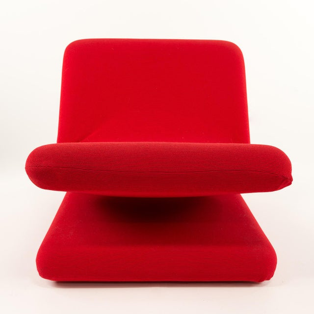 Mid-Century Modern Pierre Paulin for Artifort Style Mid-Century Modern French Chair For Sale - Image 3 of 8