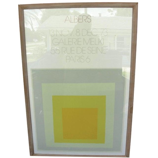 1973 Josef Albers Galerie Melki Poster - Image 1 of 7