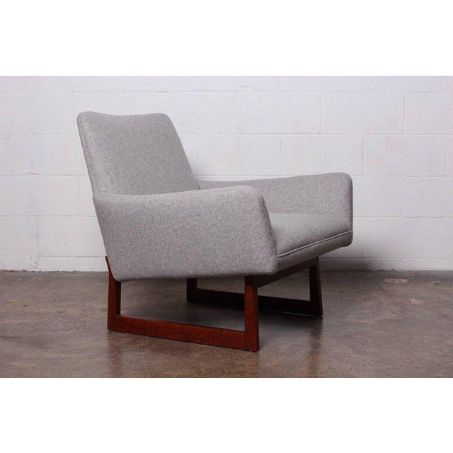 Pair of Lounge Chairs by Jens Risom For Sale - Image 9 of 13
