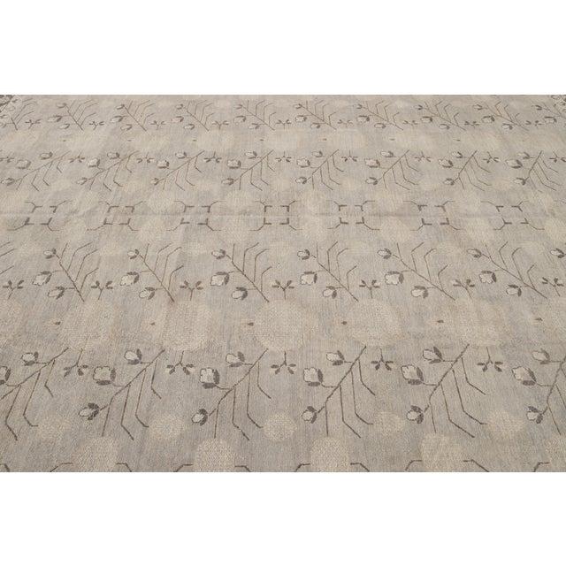Textile 21st Century Modern Kohtan Wool Rug For Sale - Image 7 of 13
