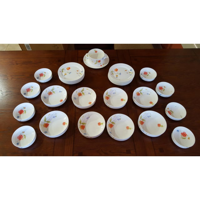 "Mikasa ""Just Flowers"" Dinnerware Set - Image 11 of 11"
