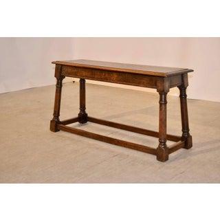 19th Century English Oak Bench Preview