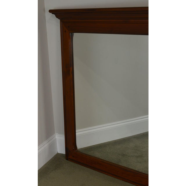 Ethan Allen Country Craftsman Collection Pine Mirror For Sale - Image 9 of 13