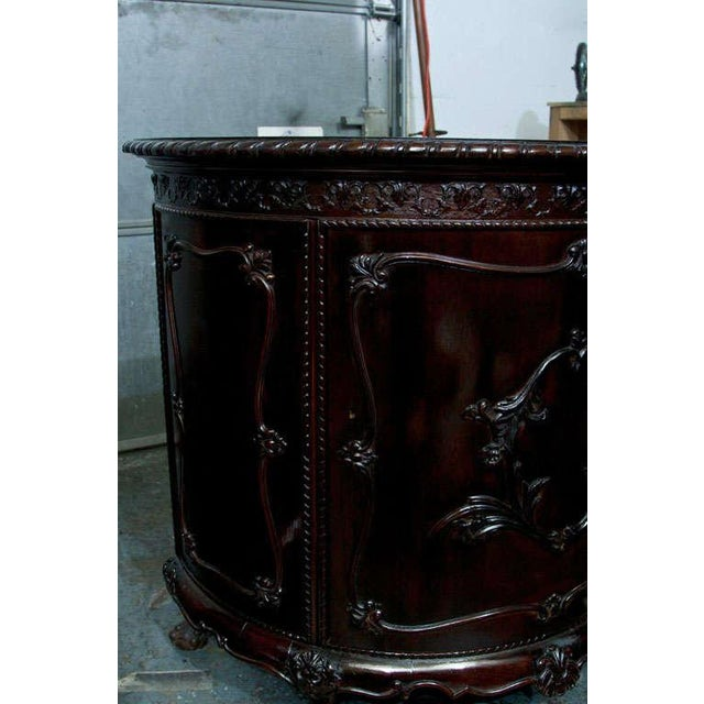 Gerogian Style Demi Lune Commode - Image 7 of 10