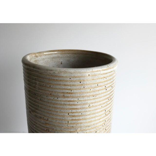 Ceramic Cylinder Vase - Image 3 of 4