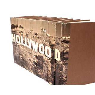Image Collection Hollywood Sign Books - Set of 10