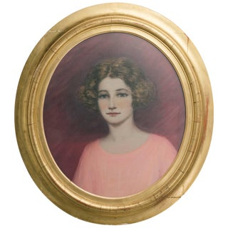 1910 Portrait of Lady For Sale