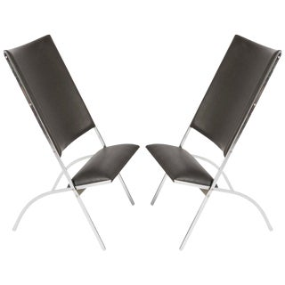 "Pair of ""Gabriela"" Chairs by Gio Ponti"