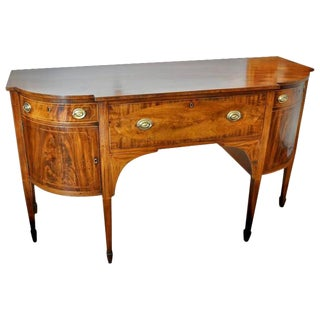 Early 19th Century American Federal Mahogany Sideboard For Sale