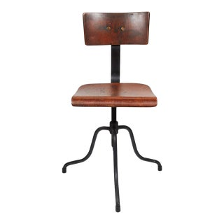 Late 19th Century French Swivel Chair For Sale