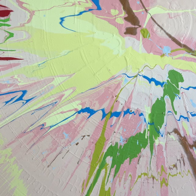 Damien Hirst Abstract Color Field - Pink/Green/Blue For Sale - Image 4 of 9
