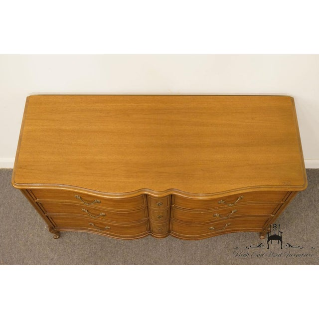 "Late 20th Century 20th Century Traditional Drexel Bordeaux Collection 54"" Double Dresser For Sale - Image 5 of 13"