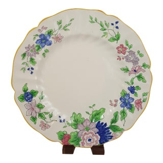 Floral Royal Doulton Salad Plate For Sale
