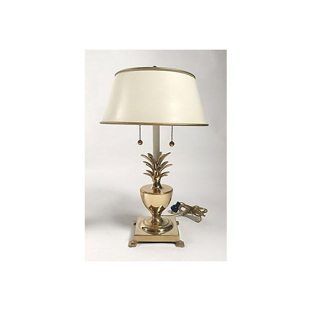 Hollywood Regency Pineapple Lamps - A Pair For Sale In Kansas City - Image 6 of 10