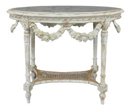 Image of Carrara Marble Side Tables