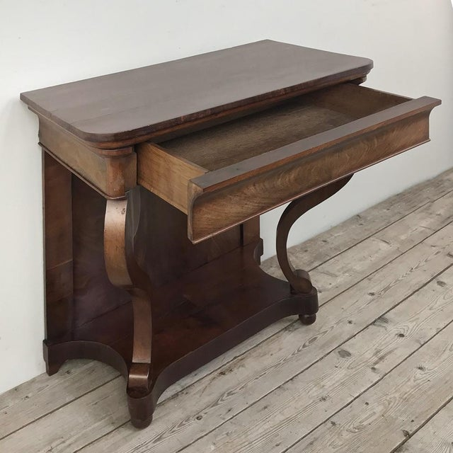 Brown 19th Century French Louis Philippe Console For Sale - Image 8 of 12