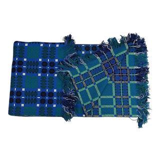 1960s Woven Reversible Welsh Blanket