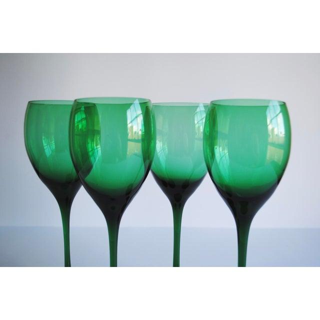 Vintage Long Stemmed Wine Glasses - Set of 4 - Image 4 of 4