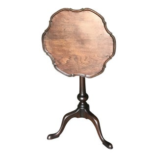 1900s Chippendale Style Tilt Top Gueridon Table For Sale