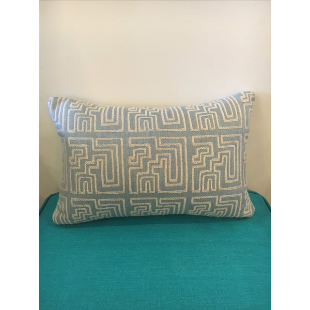 Contemporary Geometric Pillow - Image 2 of 3