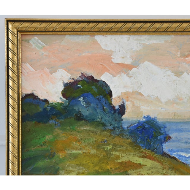 Juan Guzman Plein Air California Seascape Landscape Painting For Sale - Image 4 of 10