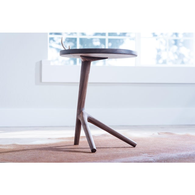 Contemporary Tripod Nesting End Tables - Set of 3 For Sale - Image 3 of 13