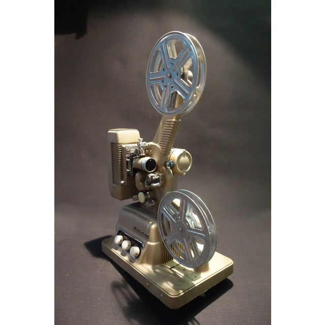 1950s Vintage 16mm Movie Projector Circa 1954 in an Impressive Large Size, by Revere Camera Company For Sale - Image 5 of 10