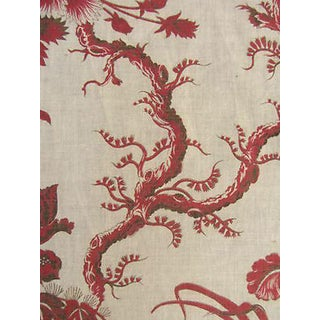 Antique French C1870 Fabric For Sale