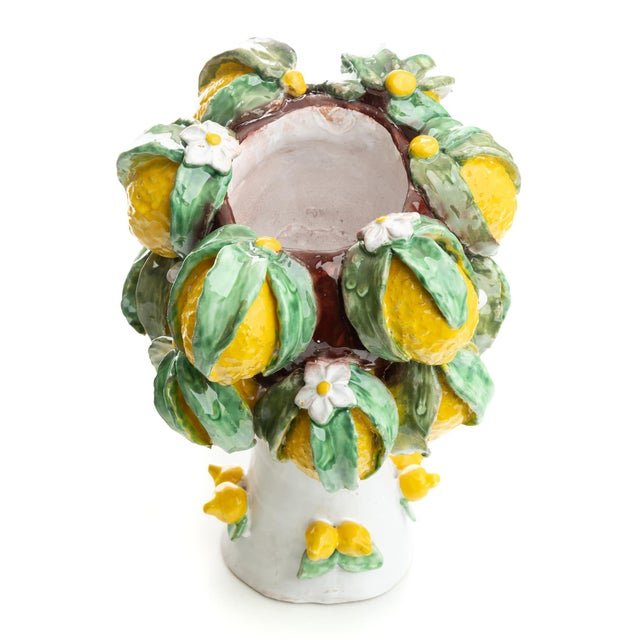 Not Yet Made - Made To Order Sculpture with Lemons, Ceramiche D'arte Dolfi For Sale - Image 5 of 10