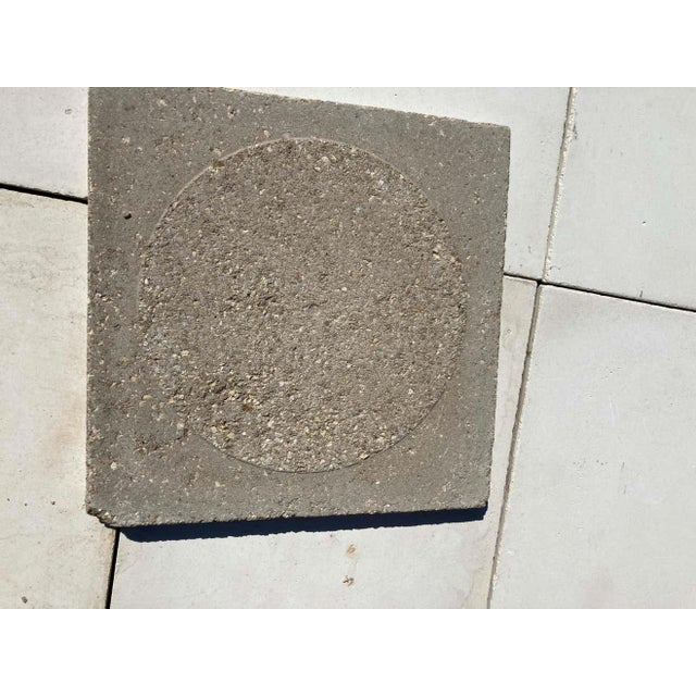 Moroccan Encaustic Cement Tile Sample with Moorish Design For Sale - Image 4 of 7