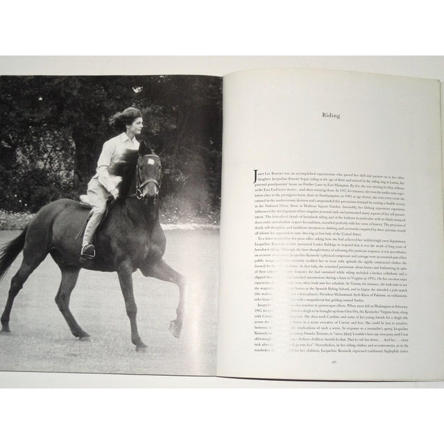 """Jacqueline Kennedy: White House Years"" Exhibit Book - Image 10 of 11"