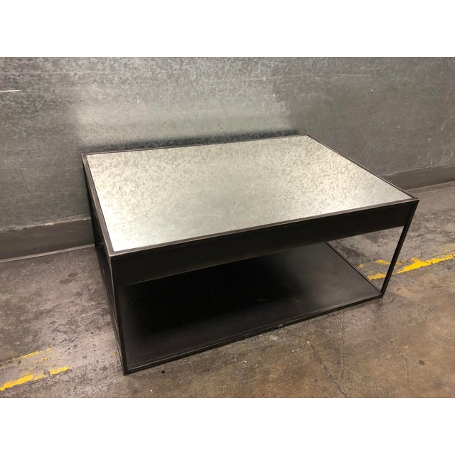 Design Plus Gallery presents the Gramercy Cocktail Table from Restoration Hardware. The combination of iron finished...