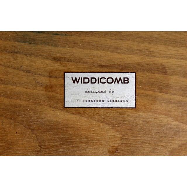 Mid-Century Modern Robsjohn Gibbings for Widdicomb Walnut Cantilever Desk, 1950s For Sale - Image 10 of 11