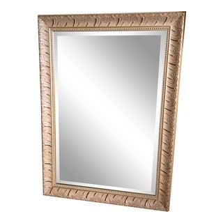 Traditional Metallic Frame Mirror