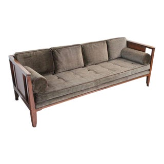 Rare sofa designed by Edward Wormley for Dunbar For Sale