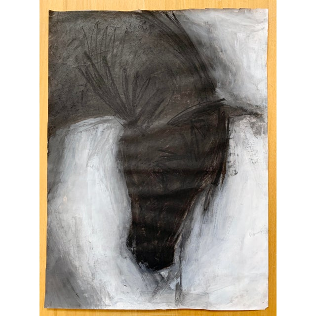 Abstract Horse Portrait #4 Drawing by Heidi Lanino For Sale - Image 3 of 4