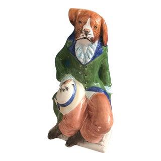 Jeanne Reed Williamsburg Dog Figurine
