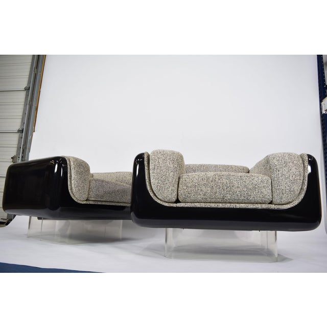 William Andrus for Steelcase Lounge Chairs - A Pair For Sale - Image 10 of 10