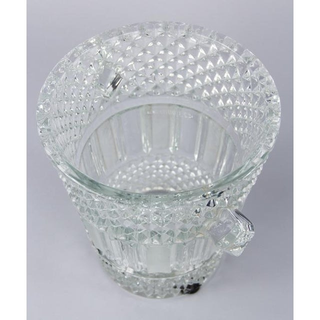 French Cut Crystal Champagne Bucket, 20th Century - Image 7 of 11
