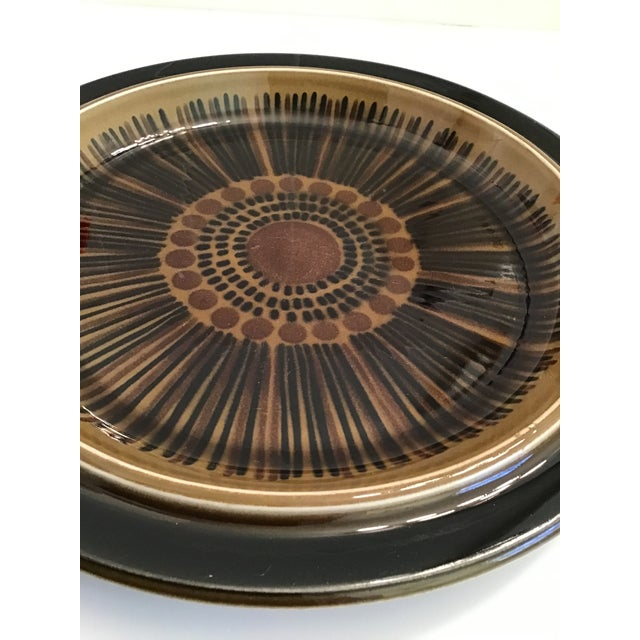 1960s Mid-Century Arabia Finland Kosmos Platter by Gunvor Olin-Gronqvist For Sale - Image 5 of 9